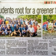 Tree Plantation by JSHM students