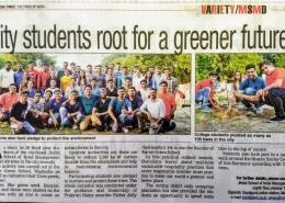Tree Plantation by JSHM students